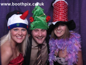 Christmas party photo booth image