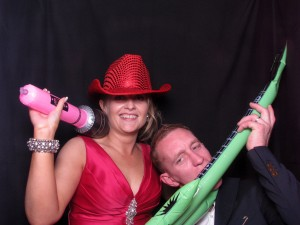 photo booth at wedding in airdrie