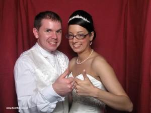 chapman wedding photo booth