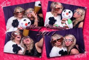 christmas photo booth theme