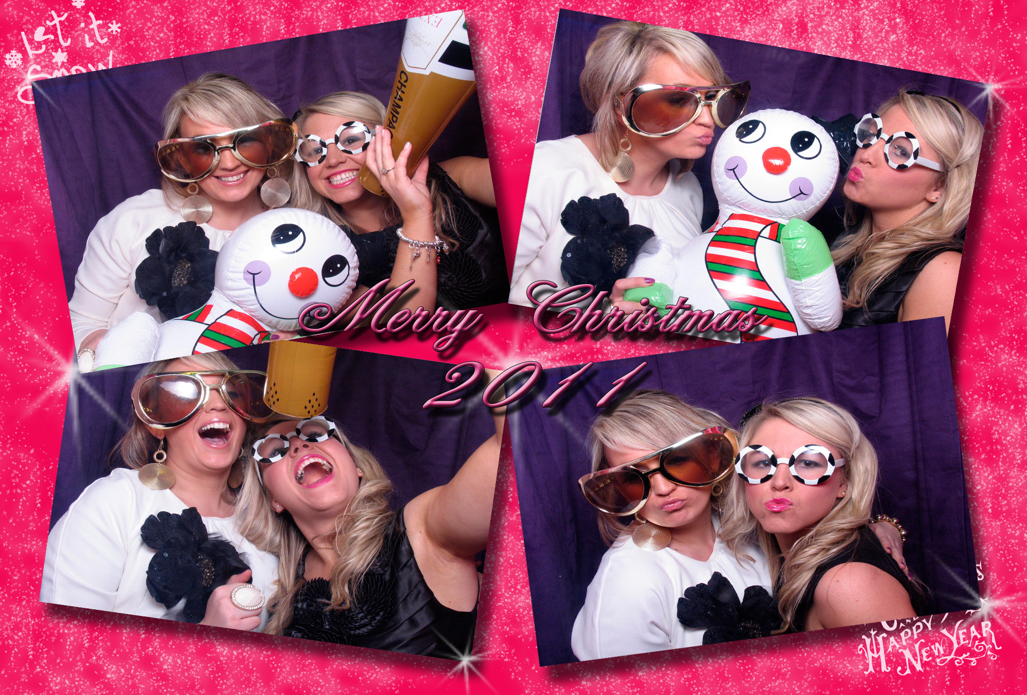 Christmas Party Photo Booth Ideas Part - 45: Christmas Photo Booth Theme