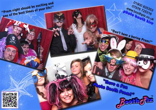 prom photo booth hire