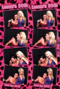 Leanns Birthday Photo Booth Print