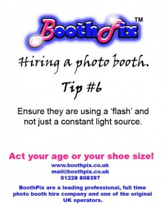 phot obooth hire tip #6