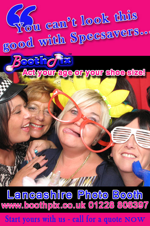 photo booth for lancashire